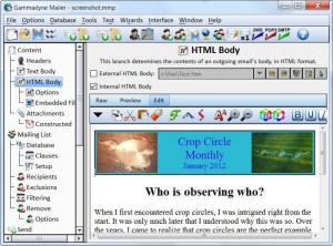 Enlarge Gammadyne Mailer Screenshot