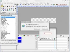 Enlarge Flex GIF Animator Screenshot
