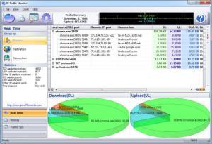 Enlarge IP Traffic Monitor Screenshot