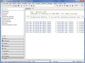 Enlarge Zeus for Windows Screenshot