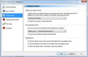 Enlarge Playlist Creator Screenshot