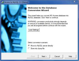 Enlarge MySQL Migration Toolkit Screenshot