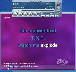 Enlarge KaraFun Player Screenshot