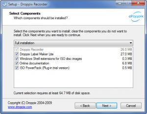 Enlarge Droppix Recorder Screenshot