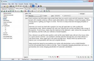 Enlarge AceText Screenshot