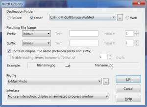 Enlarge Advanced JPEG Compressor Screenshot