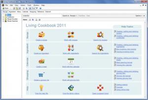 Enlarge Living Cookbook Screenshot