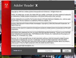 Enlarge Adobe Reader Screenshot