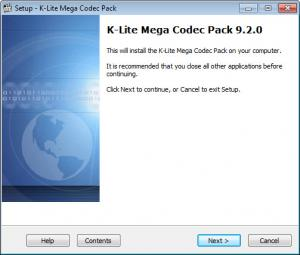 Enlarge K-Lite Codec Pack Mega Screenshot