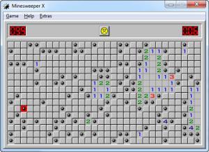Enlarge Minesweeper Screenshot