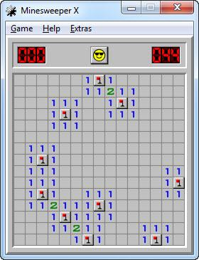 Enlarge Minesweeper Screenshot