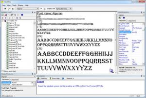 Enlarge Cfont Pro Screenshot