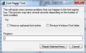 Enlarge Cfont Pro Screenshot