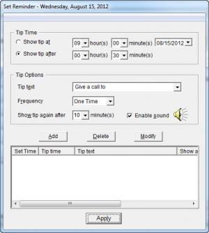 Enlarge TimeRecorder Screenshot