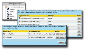 Enlarge MailEnable Professional Screenshot