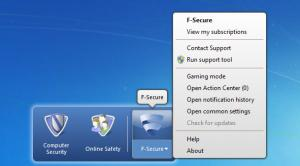 Enlarge F-Secure Internet Security Screenshot
