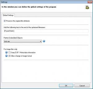 Enlarge PowerShrink Screenshot