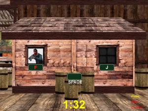 Enlarge Cowboy with Keyboard Screenshot