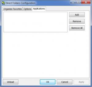 Enlarge Direct Folders Screenshot