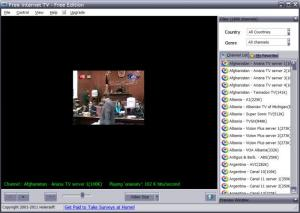 Enlarge Free Internet TV Screenshot