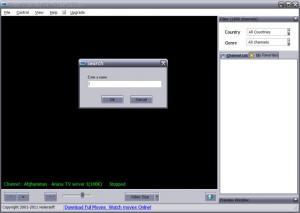 Enlarge Free Internet TV Screenshot
