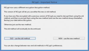 Enlarge NCrypt Screenshot