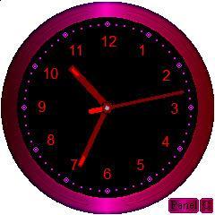 Enlarge Desktop Clock Screenshot