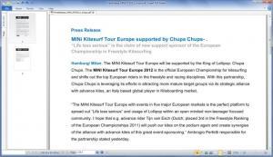 Enlarge Free Expert PDF Reader Screenshot