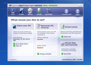 Enlarge ZeroNetHistory Screenshot