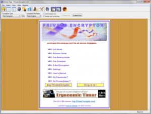 Enlarge Private Encryptor Screenshot