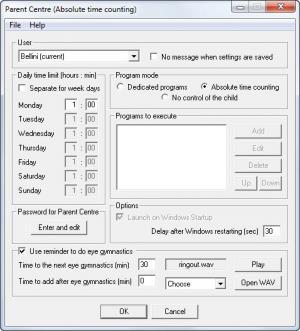 Enlarge ChildCentre Screenshot
