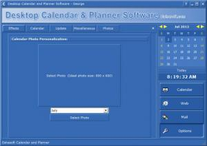 Enlarge Desktop Calendar and Personal Planner Screenshot