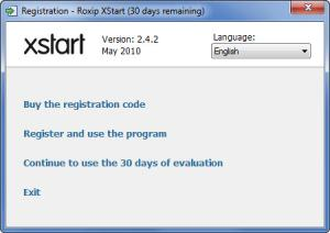 Enlarge Roxip  XStart Screenshot