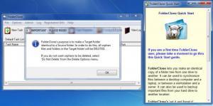 Enlarge FolderClone Screenshot