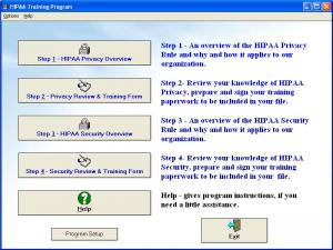 Enlarge HIPAA Training Program Screenshot