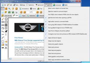Enlarge PDF Reader Screenshot