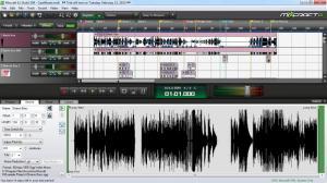 Enlarge Mixcraft Screenshot