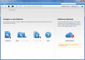 Enlarge SiteKiosk Screenshot