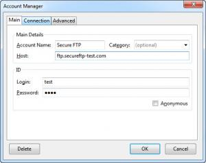 Enlarge FireFTP Screenshot