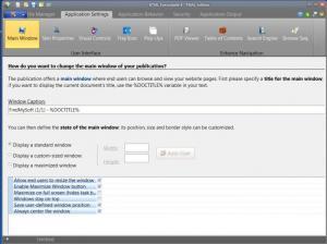 Enlarge HTML Executable Screenshot