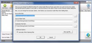 Enlarge Switch Audio File Converter Screenshot