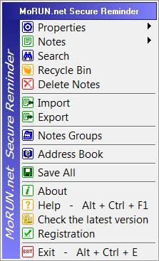 Enlarge Secure Reminder Screenshot
