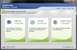 Enlarge ZoneAlarm Pro Antivirus + Firewall Screenshot
