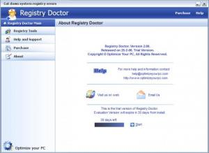 Enlarge Registry Doctor Screenshot