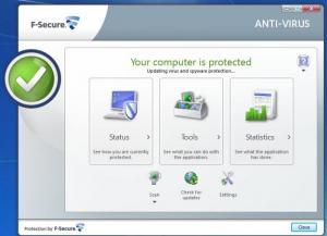 Enlarge F-Secure Anti-Virus Screenshot