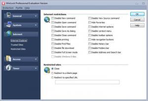 Enlarge WinLock Professional Screenshot