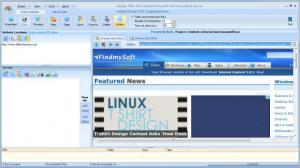 Enlarge Website Extractor Screenshot