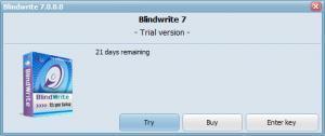 Enlarge BlindWrite Screenshot