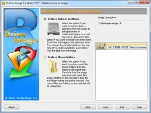 Enlarge R-Drive Image Screenshot