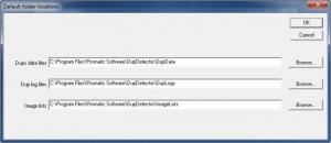 Enlarge DupDetector Screenshot